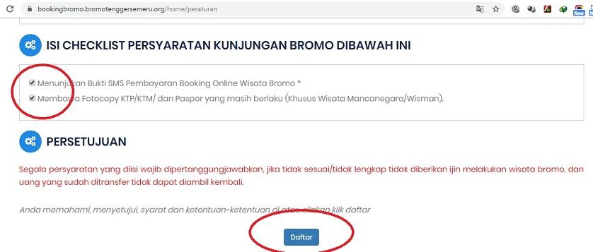Booking online Bromo